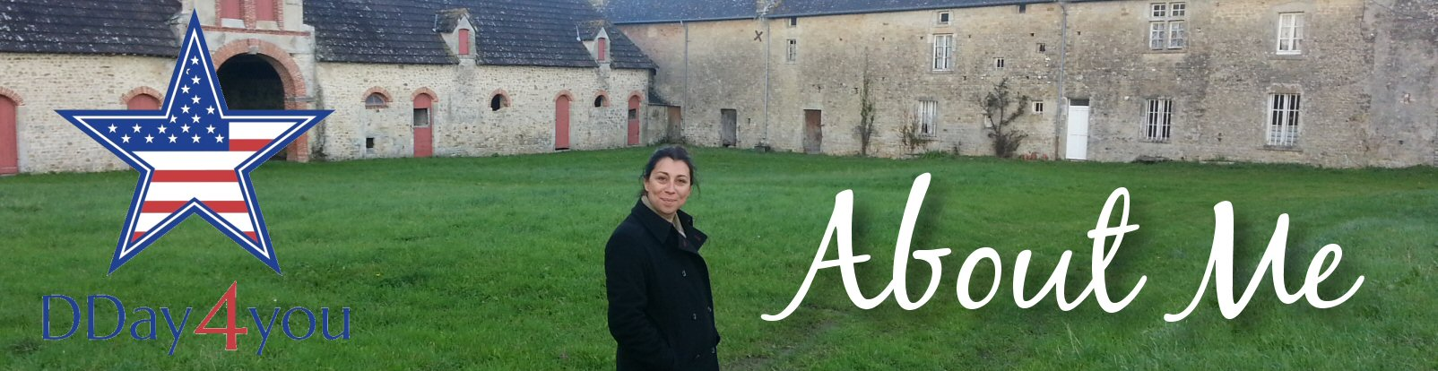 Magali Desquesne at the farm in Normandy where she spent her childhood